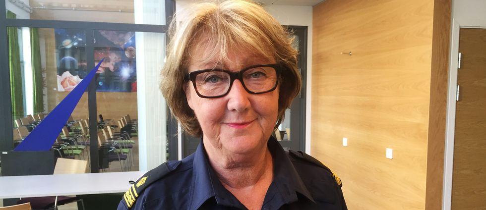 "Polisens kommunikatör Ewa-Gun Westford får ta emot Skånska Akademiens pris ""Årets medelpunkt""."