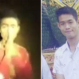 Thailändska pojkar och tränaren