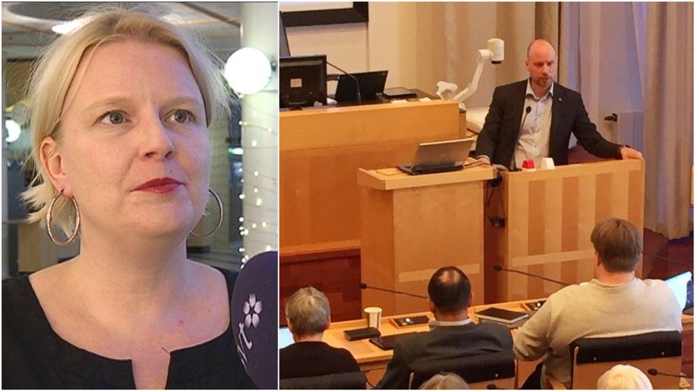 Ulrika Edman, Hans Lindberg, kommunfullmäktige