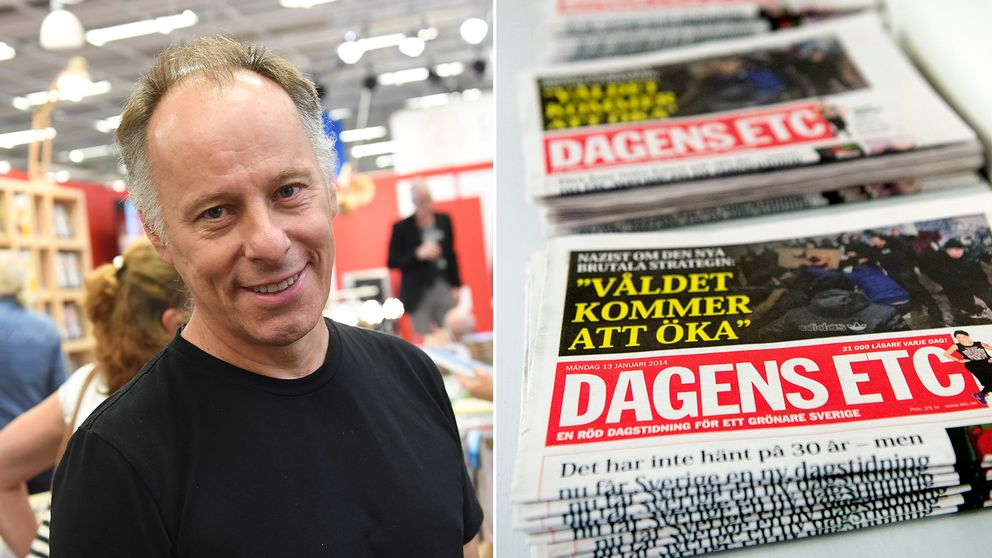 Grundaren Johan Erhrenberg hoppas nu på läsarnas hjälp för att lösa ETC:s ekonomiska bekymmer.