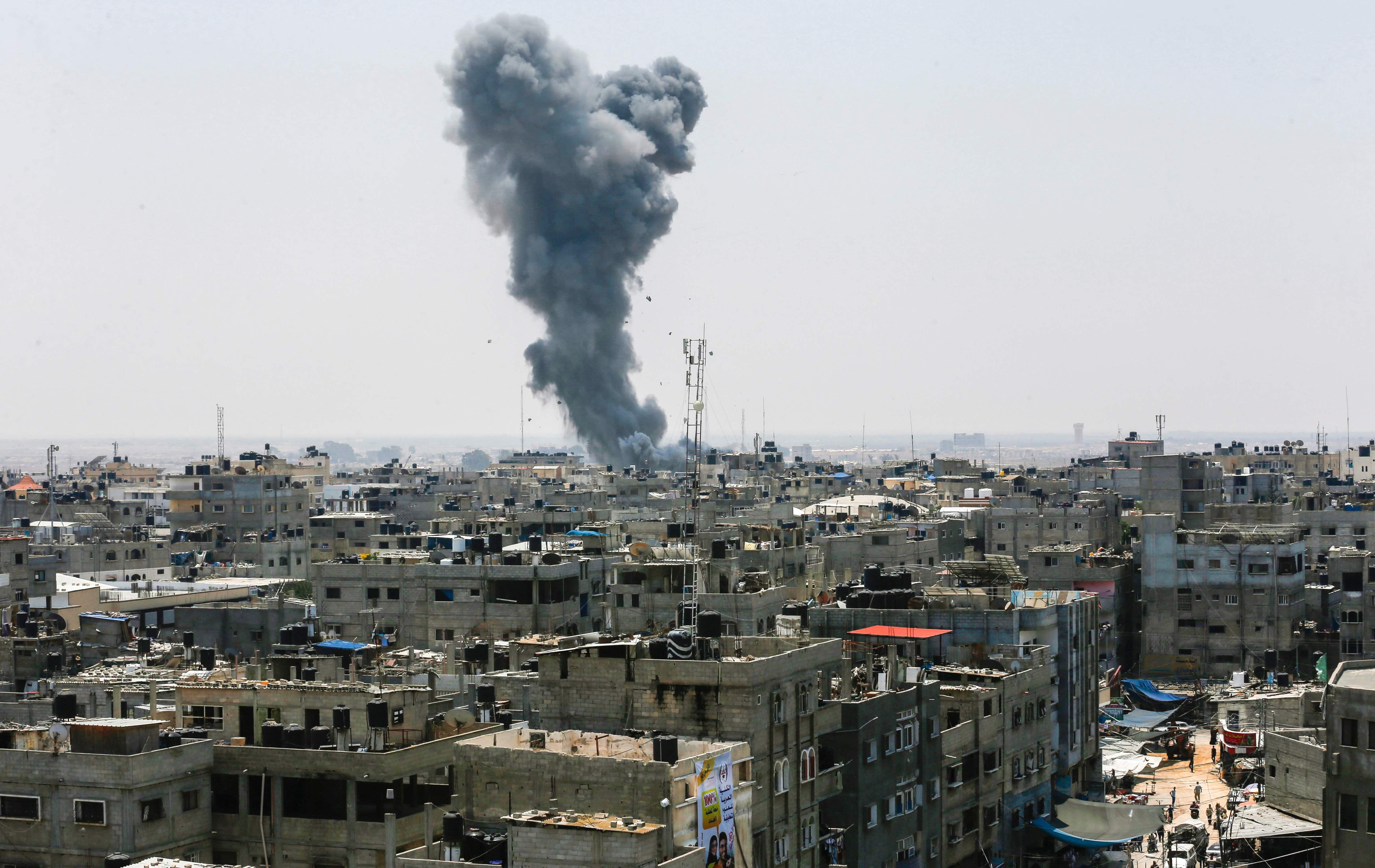 Vapenvilan officiellt slut i gaza