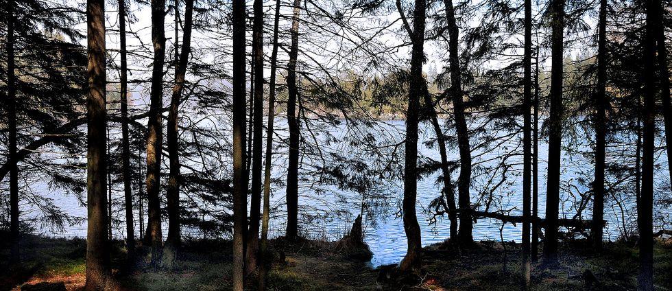 Klubbsjön utanför Härnösand..