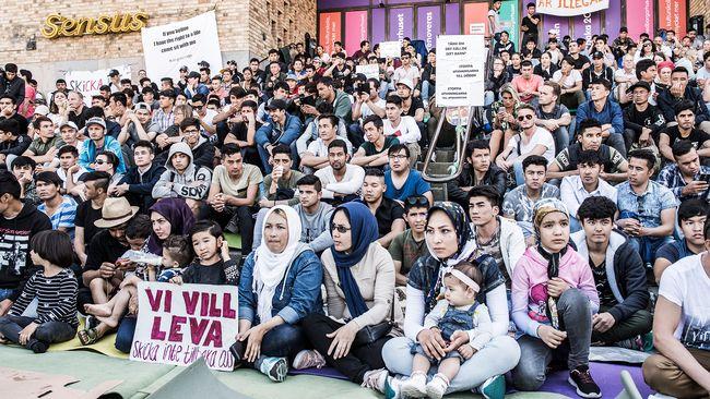 Migrationsverket avvaktar med den kritiserade gymnasielagen