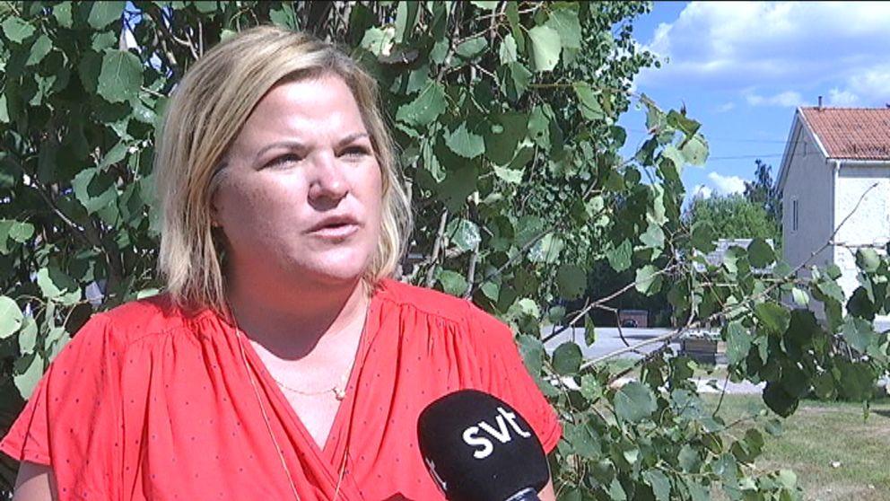Eva-Lena Jonsson, socialchef i Åsele.
