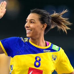 Svenska landslagsstjärnan Jamina Roberts.