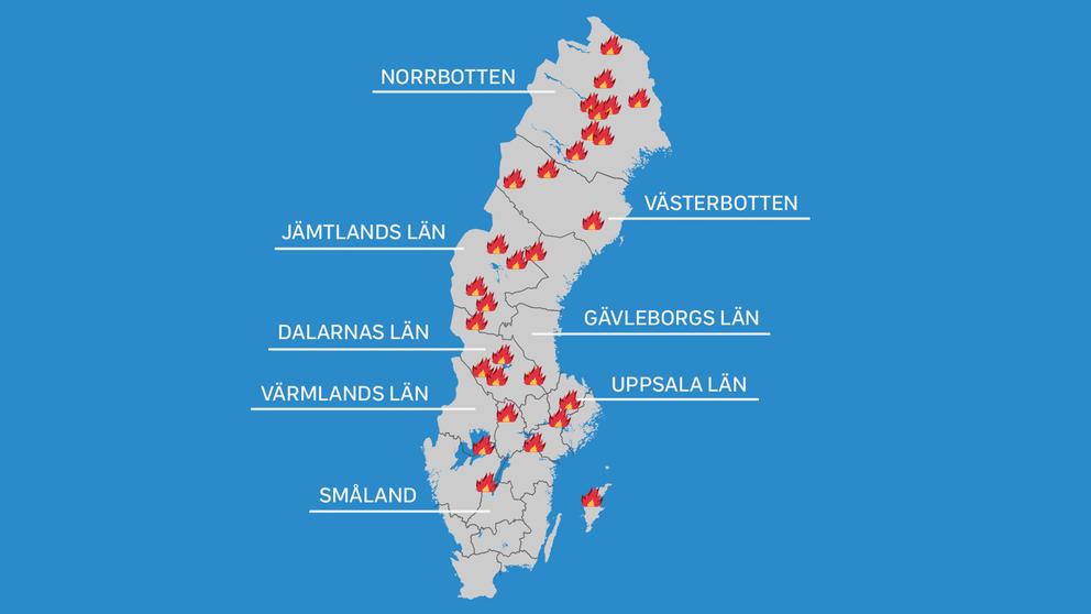 Schweden Waldbrände Karte.Wetterzentrale Forum Wetter Weltweit Waldbrände Nehmen Rapide