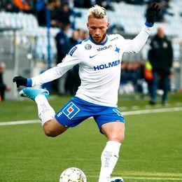 Nicklas Bärkroth, här i Norrköpingströjan.
