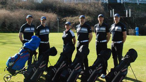 Idag åker de till Golf-VM I Maynooth på Irland