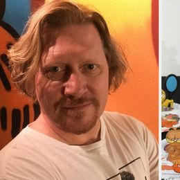 Adam Lindrooz är skaparen bakom museet om Katten Gustaf.