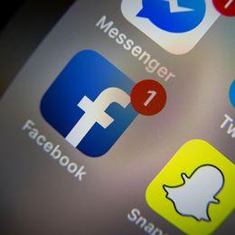 Bild på sociala medier-appar.