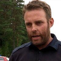 Hans Nornholm är operativ chef för bränderna i Hälsingland.