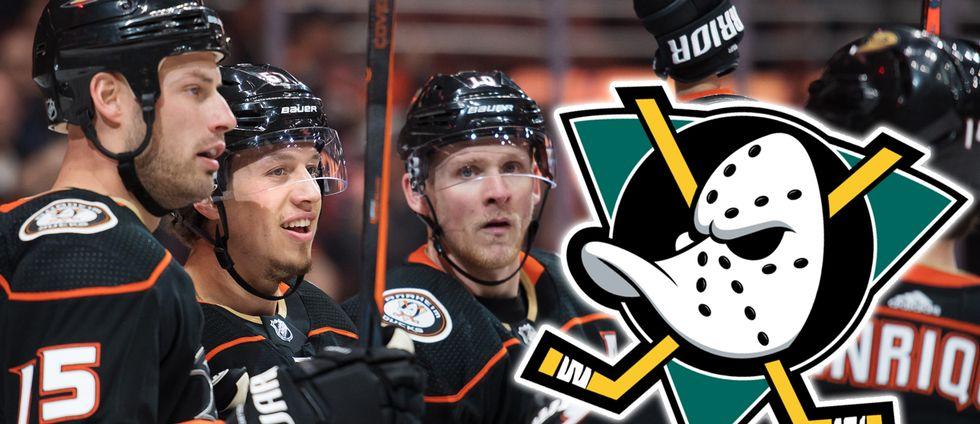 Anaheim Ducks tar tillbaka sin klassiska logga från 1990-talet.