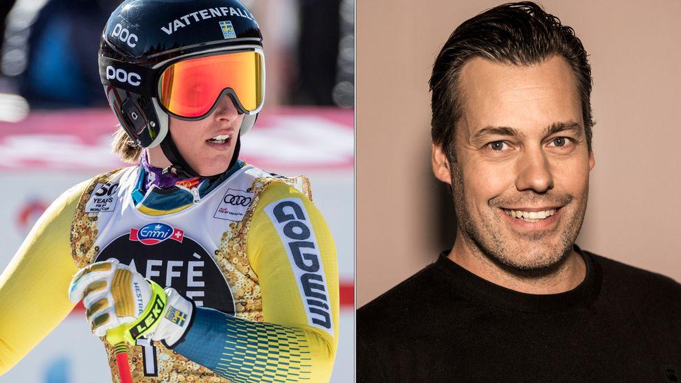 Kajsa Kling och Tobias Hellman.