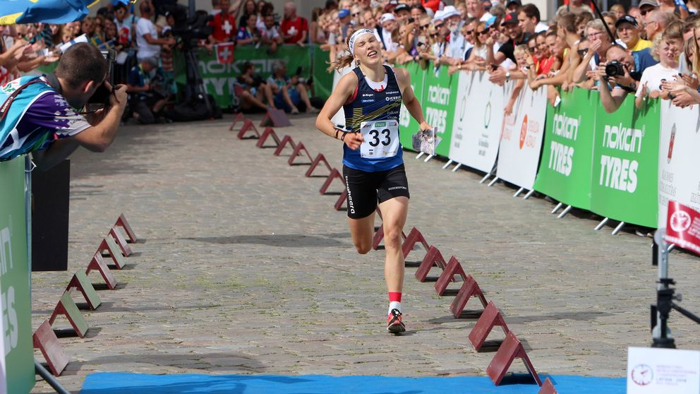 Tove Alexandersson sprang bort sig totalt på medeldistansen i VM.