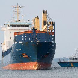 Fartyget har nu fått OK av Transportstyrelsen att lämna Helsingborg.