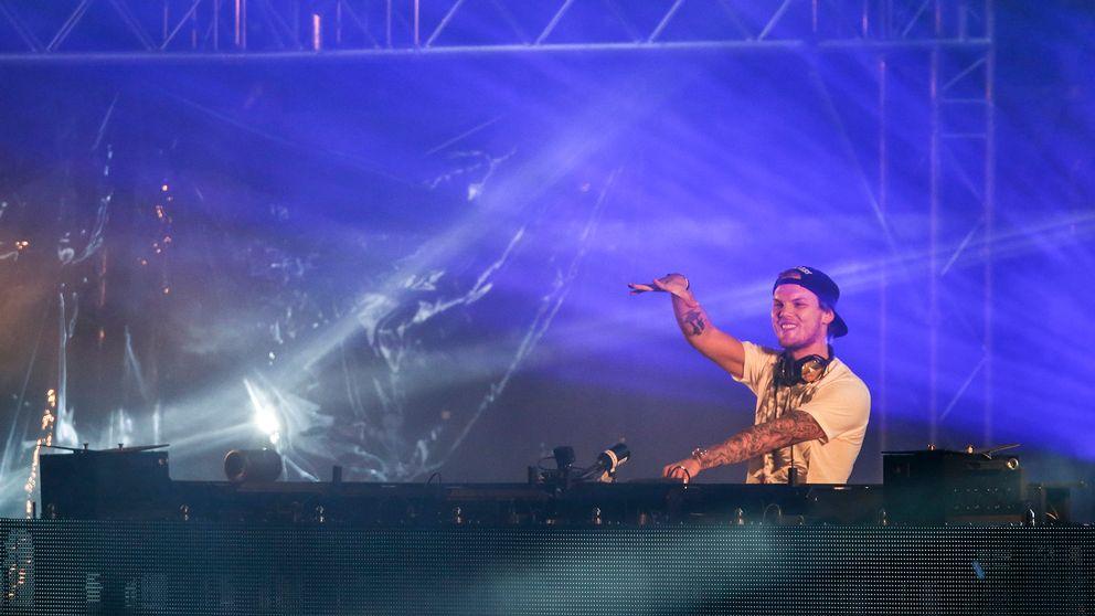 """Tim """"Avicii"""" Bergling poserar för ett foto i New York 2012 i samband med festivalen Lollapalooza."""