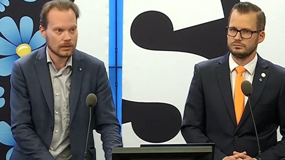 Sverigedemokraterna presenterar sin miljöpolitik.