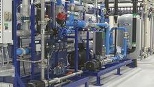 Avsaltningsverket skapar intresse även internationellt.