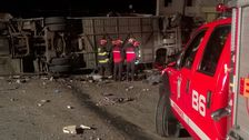 19 pilgrimer dog i bussolycka