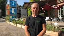 Tobias Fredricson, trädgårdsmästare på Tom Tit.
