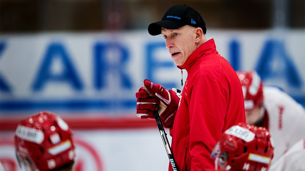 Timrås tränare Fredrik Andersson.