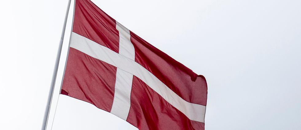 Danska flaggan.