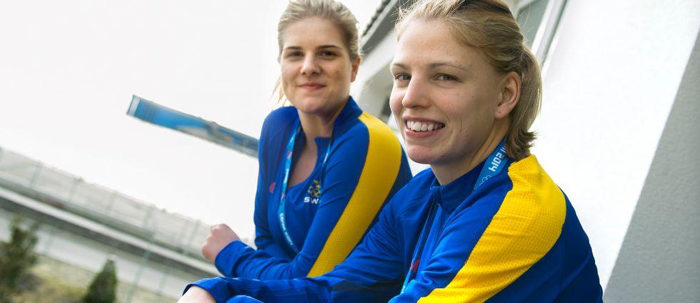 Emma Nordin och Sara Grahn /arkiv.