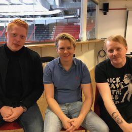 Mauri Hermundsson, Johan Myrberg och Andreas Häggström poddar om SSK.