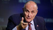 Rudy Giuliani, republikan och före detta borgmästare i New York.