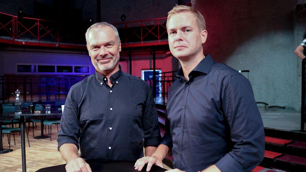 Jan Björklund och Gustav Fridolin