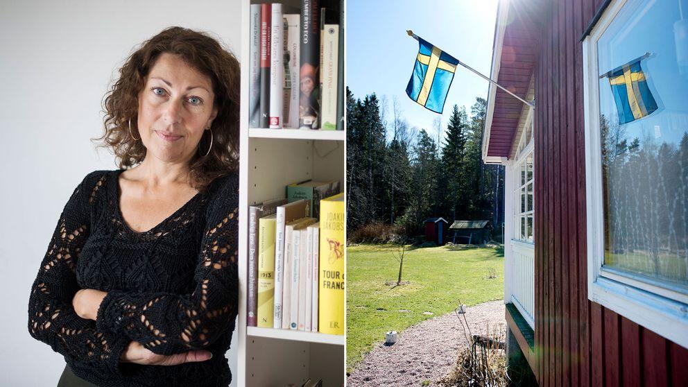 Elisabeth Åsbrink utforskar vad som ligger i begreppet svenska värderingar i sin nya bok.