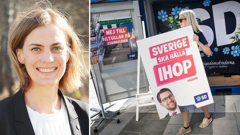Caroline Dieker, oppositionsråd och gruppledare för Moderaterna i Askersund.