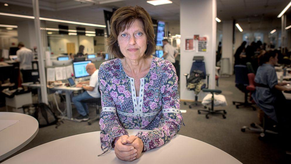 Journalisten Katarina Lagerwall på Dagens Nyheter