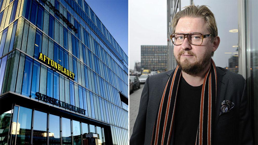 Bild på Aftonbladet och Fredrik Virtanen.