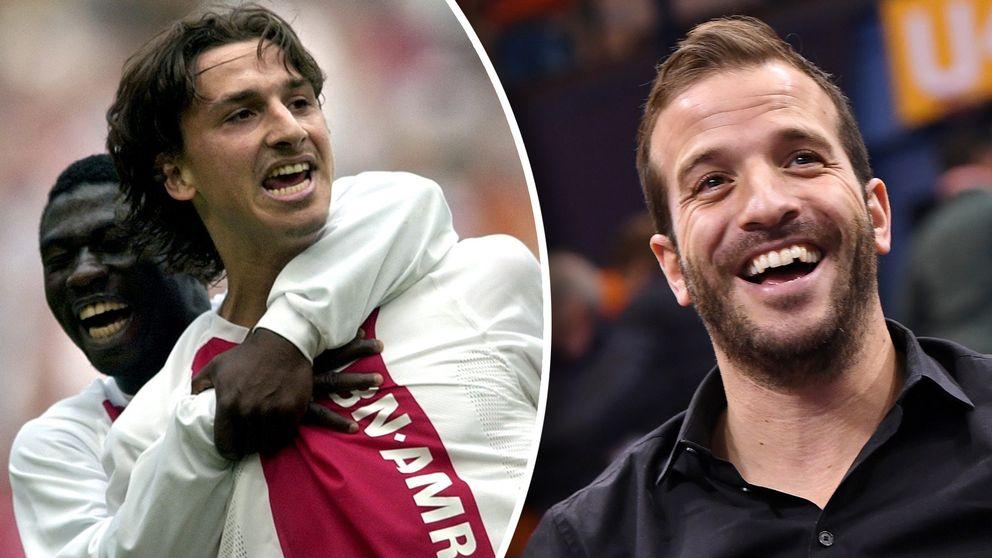 Rafael van der Vaart menar att Zlatan Ibrahimovic var avundsjuk på honom under tiden i Ajax.