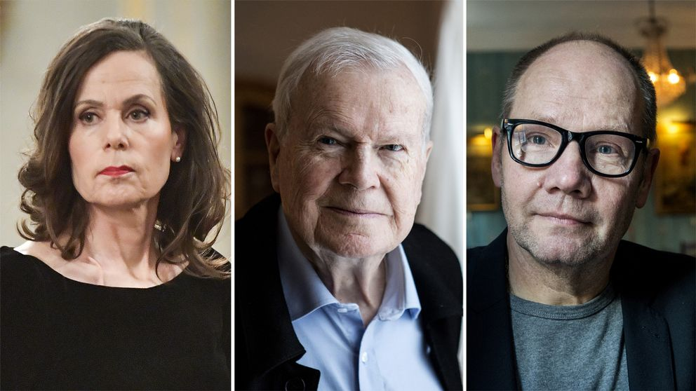 Sara Danius, Kjell Espmark och Peter Englund återvänder till Akademien för att man ska kunna välja in nya ledamöter.