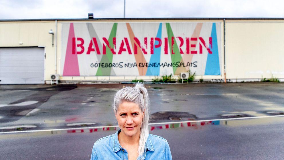 Emma Knyckare på Bananpiren i Göteborg