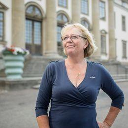Finanslandstingsråd Irene Svenonius (M).
