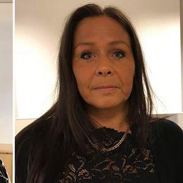 Oppositionsrådet Eva Borg (S) och gruppledaren Carita Boulwén (SD) i Kungsbacka kommun.