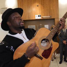 Artisten och lobbyisten Wyclef Jean.