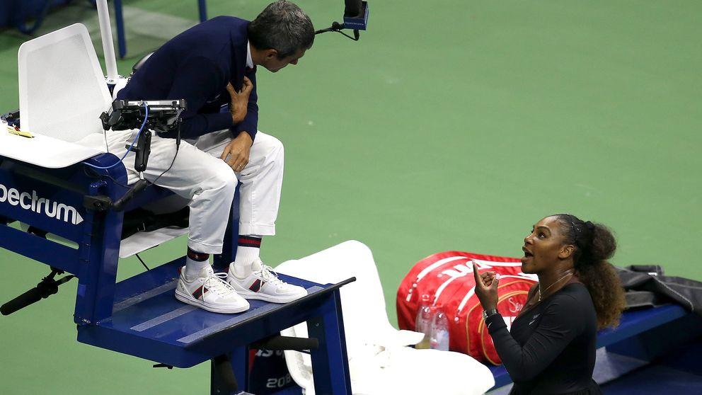 Serena Williams fick ett utbrott på domaren under US Open-finalen.