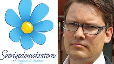 Distriktsordförande Björn T Nurhadi (SD).