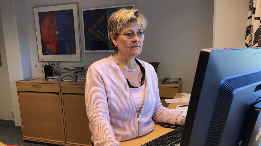 Sjukhusdirektör Nina Fållbäck Svenson.