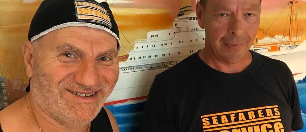 Sjömän på Kaknäs sjöfartsklubb