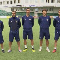 De fem spanska spelarna i GIF Sundsvall