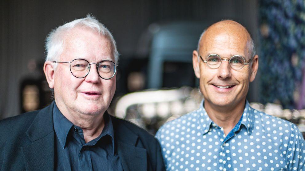 Arne Norlin och Jonas Burman