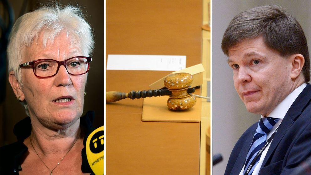 Åsa Lindestam (S), Andreas Norlén (M) och Björn Söder (SD) har nominerats till talmansposterna.