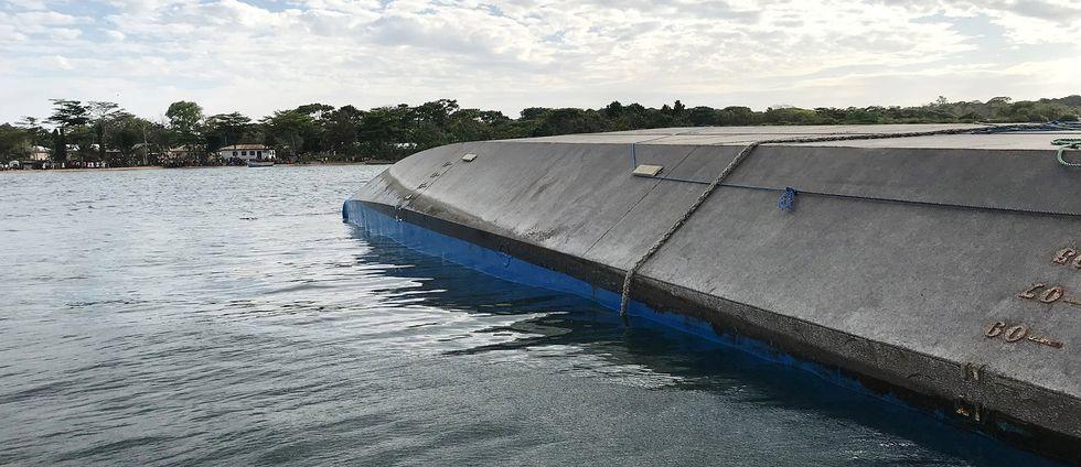 Fartyget MV Nyerere.
