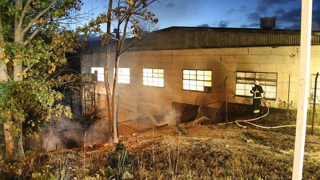 Tolvaring omkom efter villabrand
