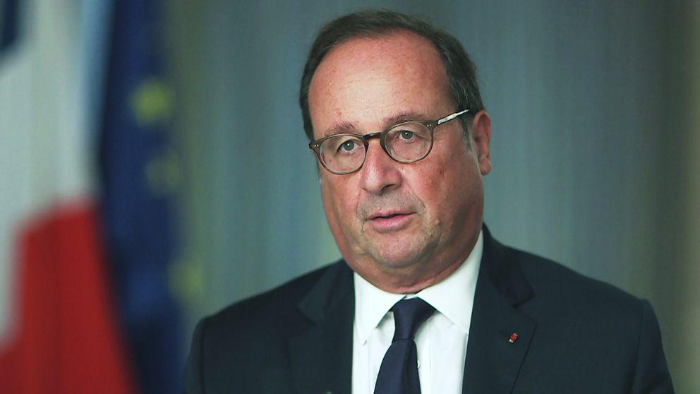 Frankrikes före detta president François Hollande intervjuas i Agenda